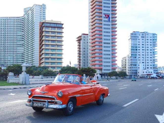 If you want to go for a ride in a shiny American car in Havana, you'll pay a premium.