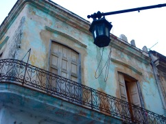 The patina of historic buildings hint at days of former grandeur.