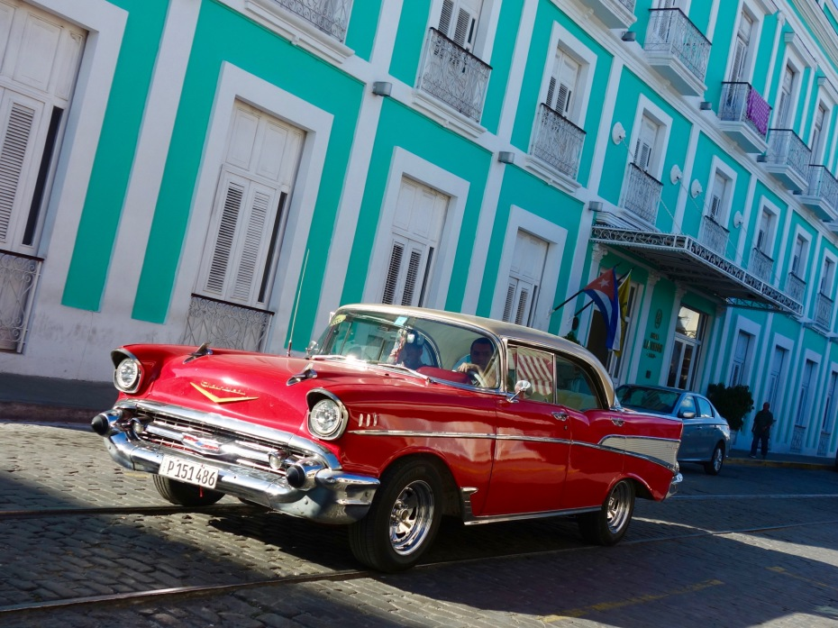 Cruising in Cienfuegos.