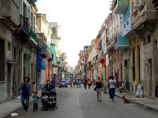 A neighborhood near Vedado in Havana.